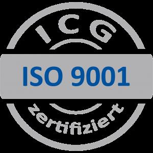 ISO 9001_grau-blau ICG_transparent